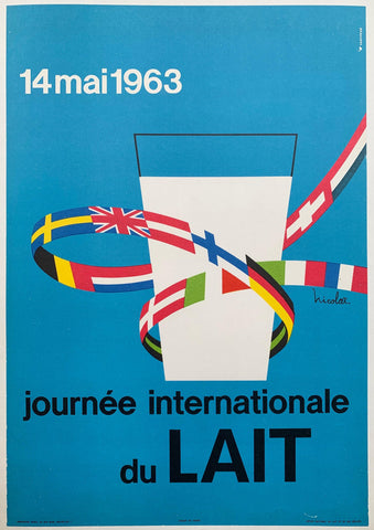 14 mai 1963 Journee Internationale du LAIT