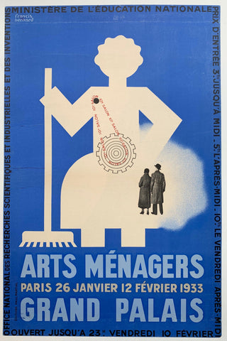 Arts Menagers Paris 26 Janvier 12 Fevrier 1933 Grand Palais