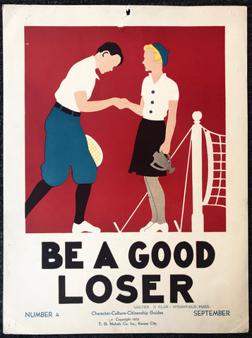 Be A Good Loser