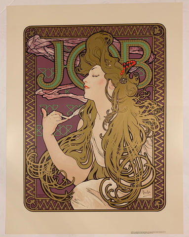 Mucha Woman Poster