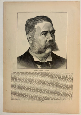 General Chester A. Arthur