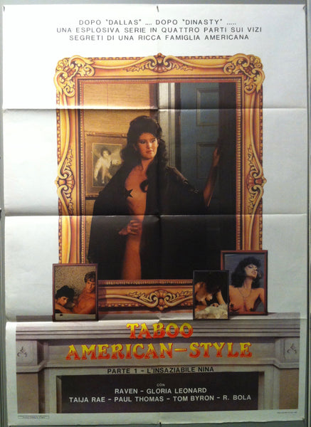 Taboo American-Style - Poster Museum
