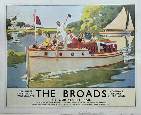 The Broads Its Quicker by Rail