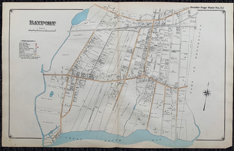 Long Island Index Map No.2 - Plate 32 Bayport