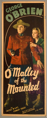 O'Malley of the Mounted Poster