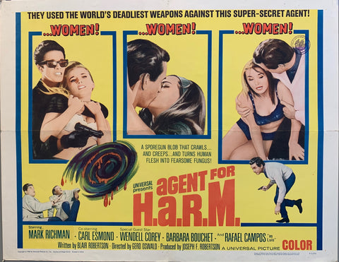 Agent For H.A.R.M. Film Poster