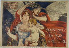 vintage french war poster