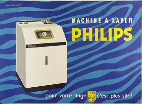 Philips Machine à Laver - Guy Georget