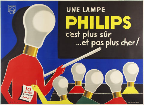 Une Lampe Philips - Guy Georget