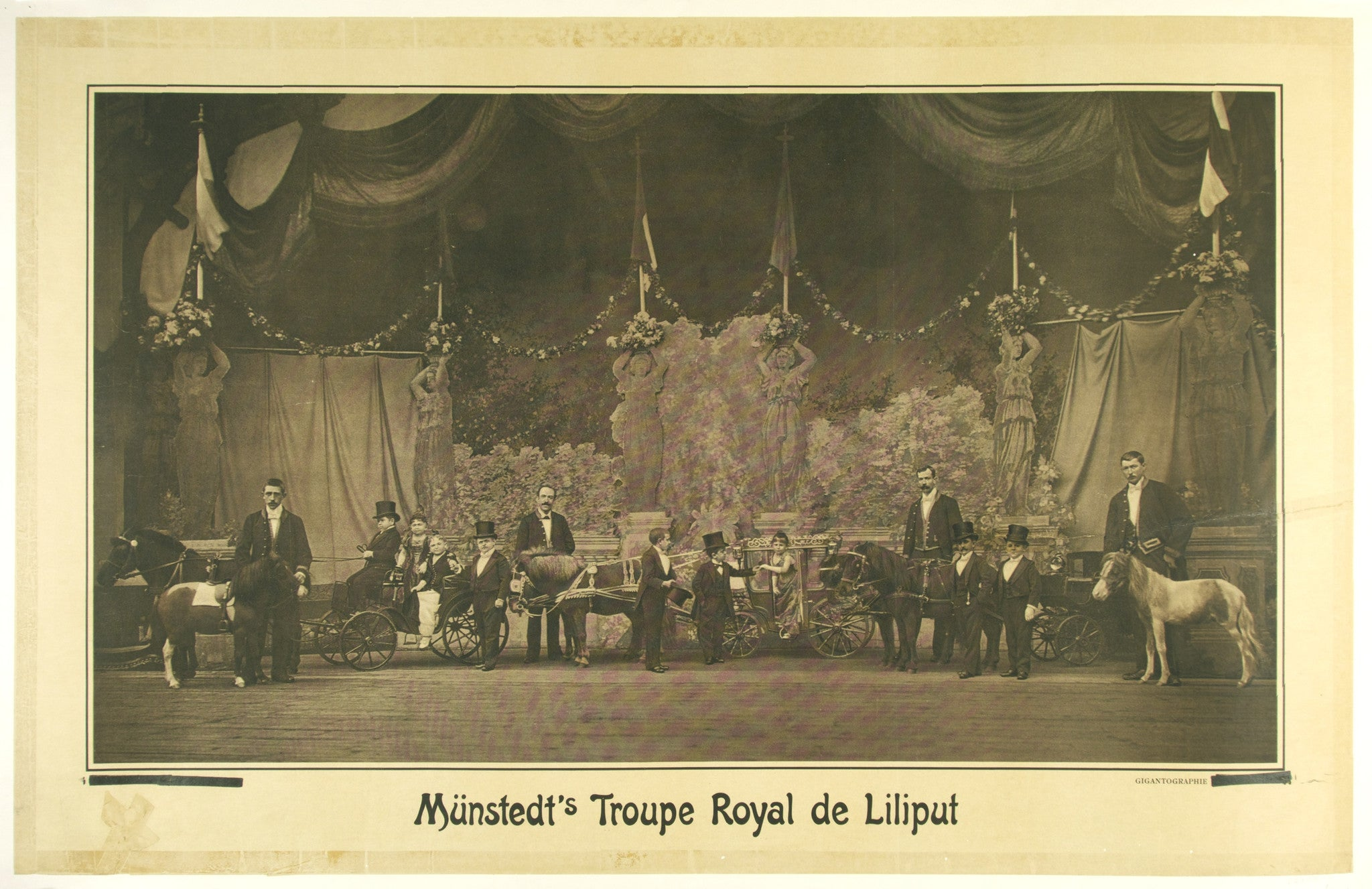 Munstedt's Troupe Royal de Liliput