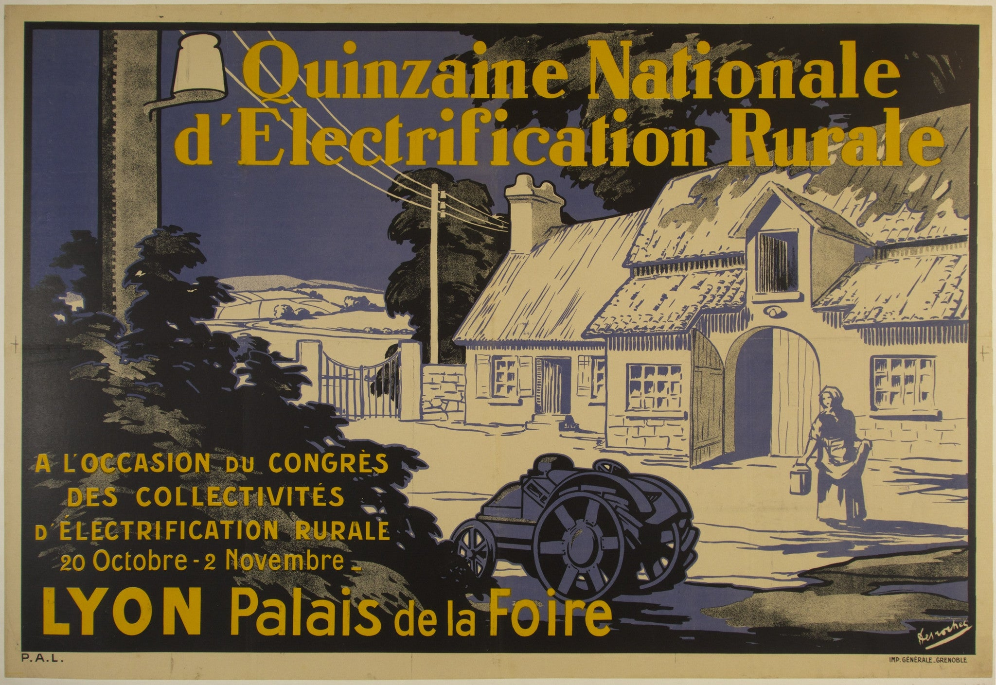 Quinzaine Nationale d'Electrification Rurale