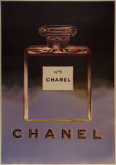 Chanel No. 5 (Black & Purple)