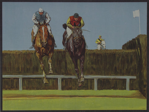Three Riders Coursing