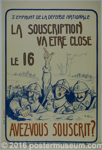 La Souscription Va Être Close Le 16