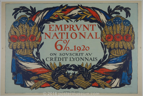 Emprunt National 6% - 1920