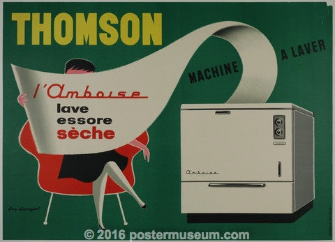Thompson Machine à Laver - Guy Georget