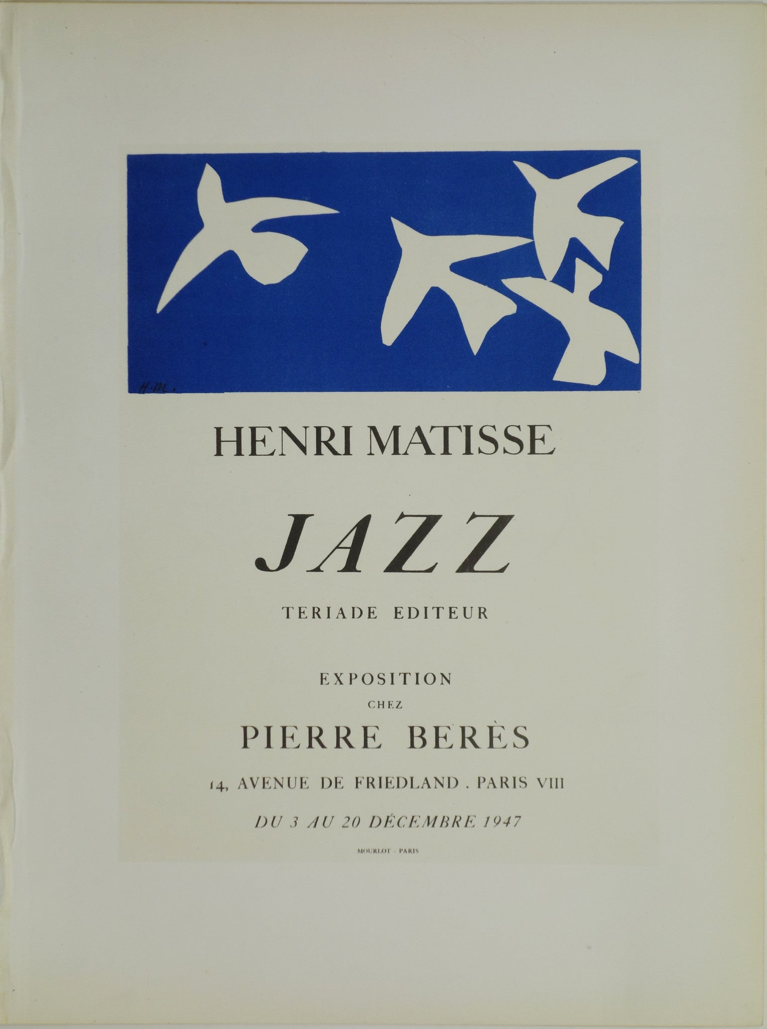 Henri Matisse The Cut Outs Opens At Moma Poster Museum