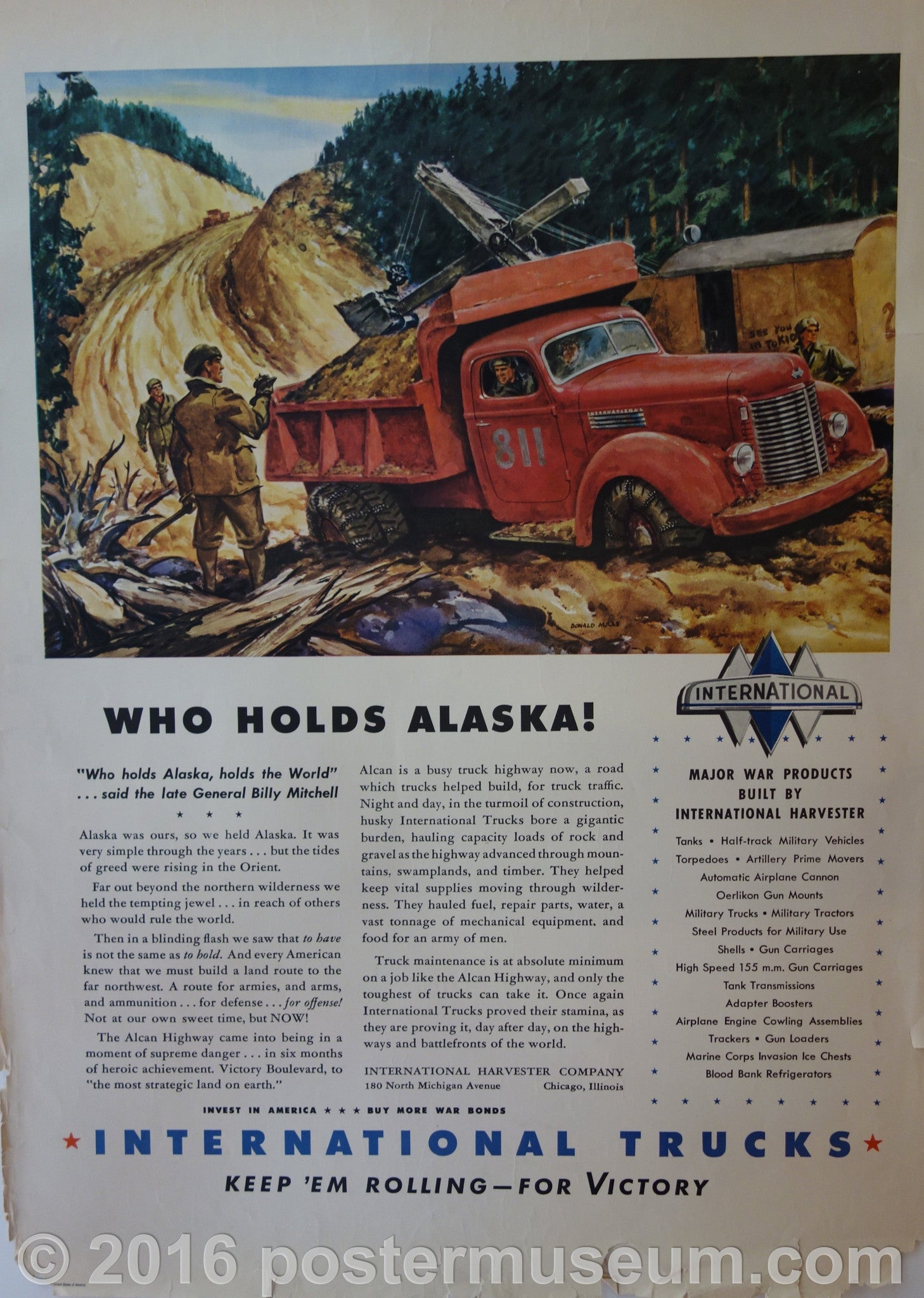 Who Holds Alaska!