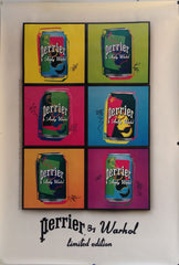 Perrier By Warhol Limited Edition