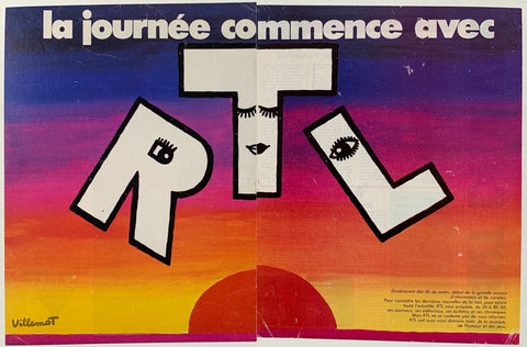 Advertisement for RTL
