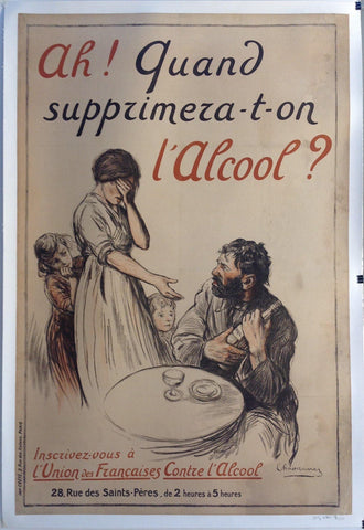 Ah! Quand Suppziemeza-t-on L'Alcool?