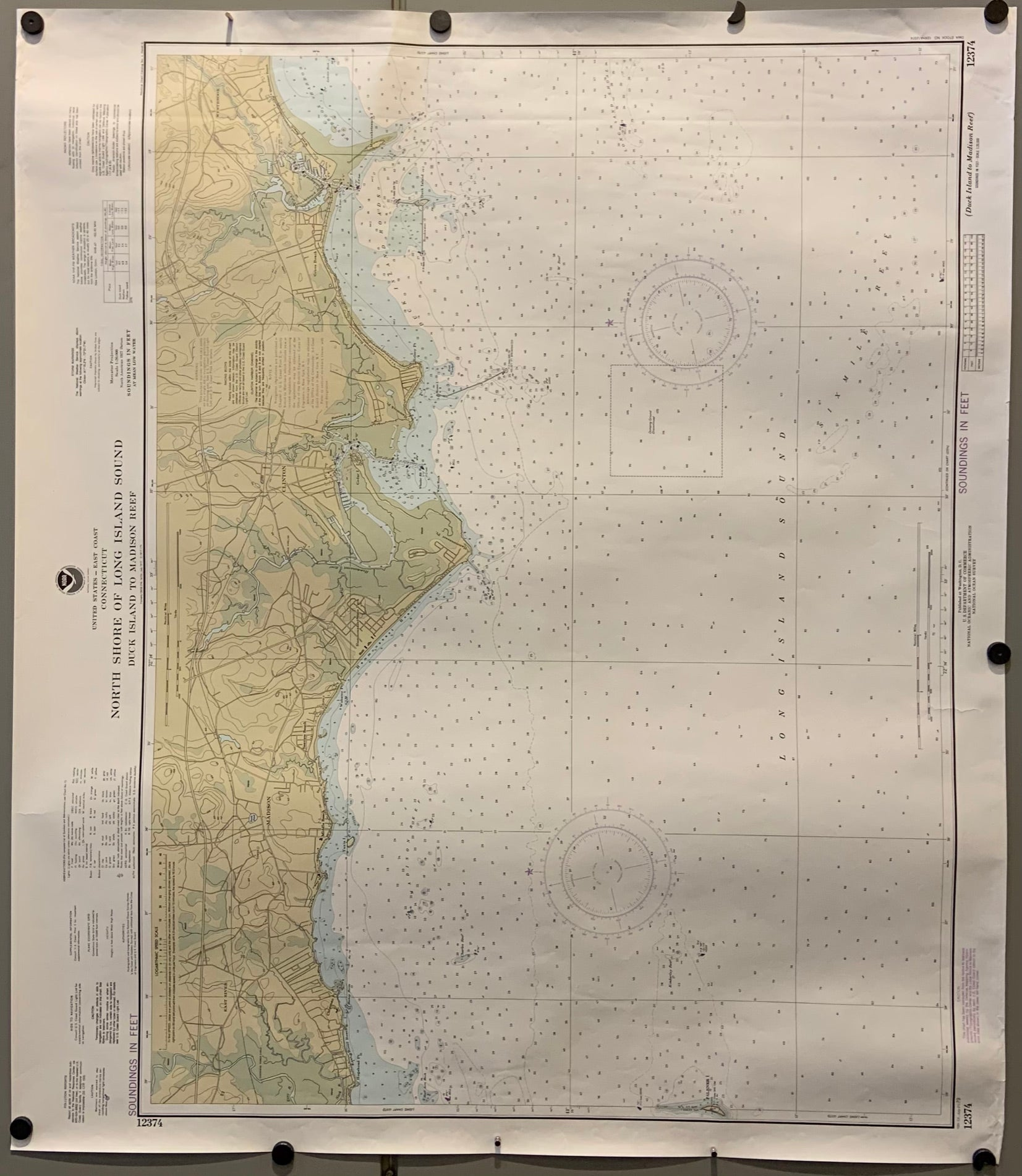 North Shore of Long Island Sound Map