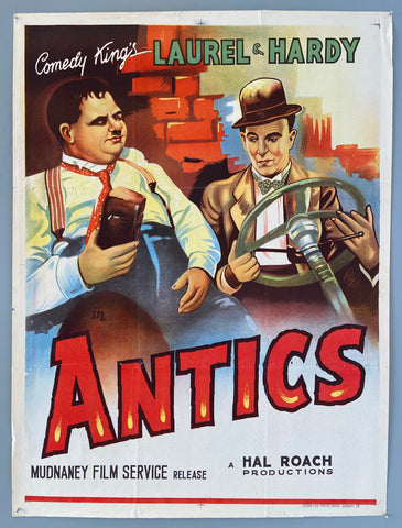Comedy King's: Stan Laurel &  Oliver Hardy in Antics