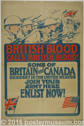 British Blood Calls British Blood