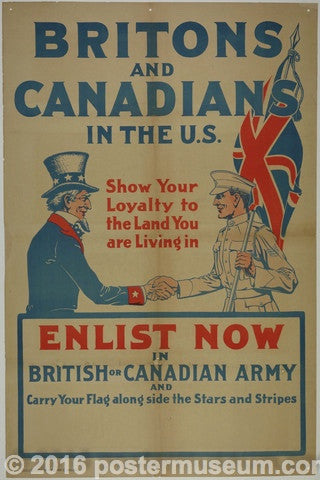 Britons and Canadians in the U.S.