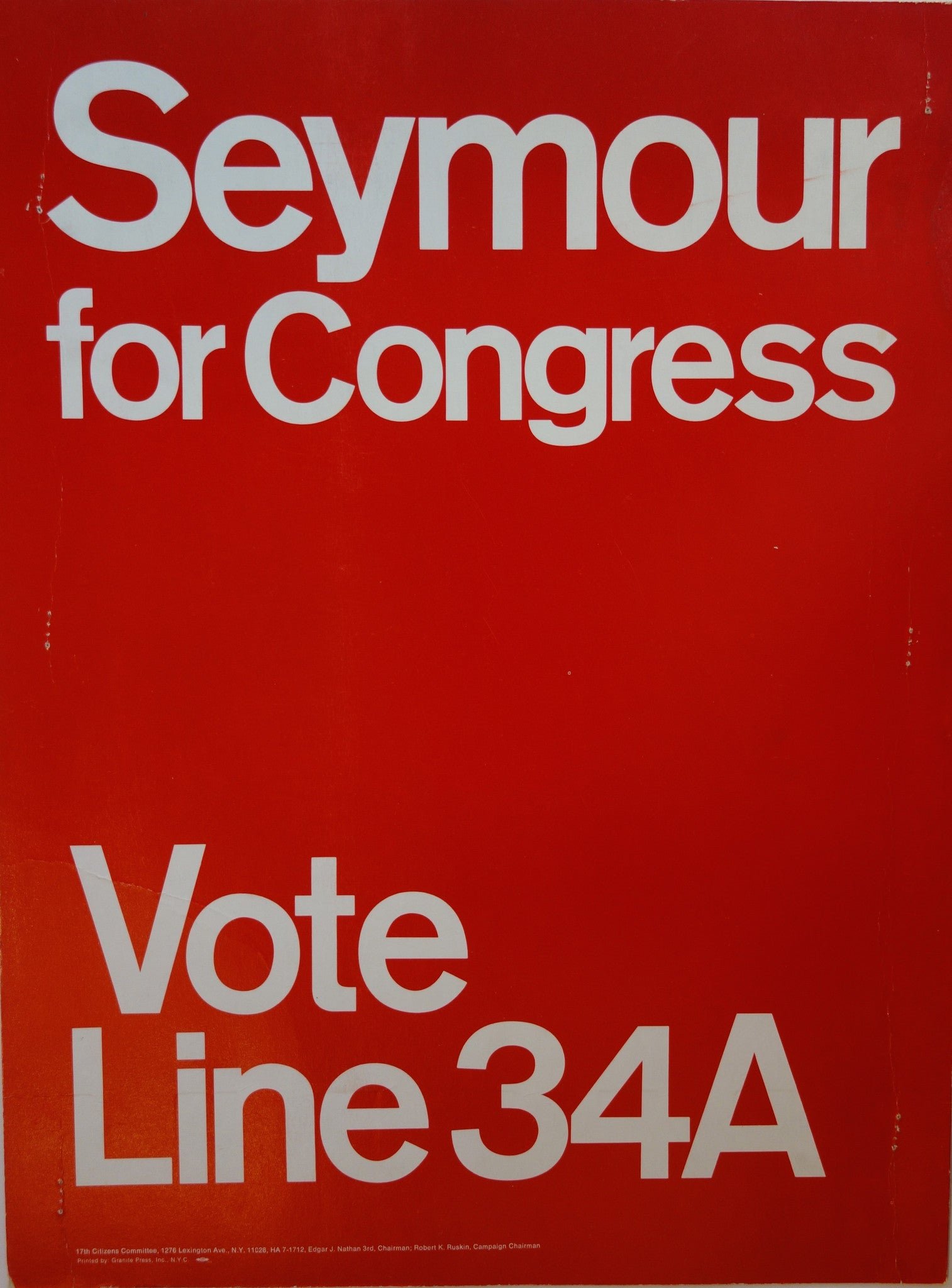 Seymour for Congress Red