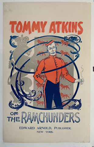 Tomy Atkins of the Ramchunders - Poster Museum