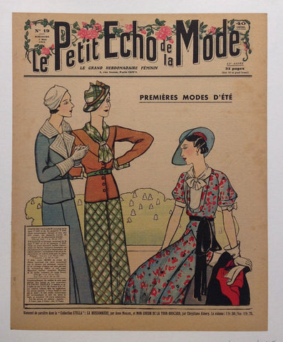 Le Petit Echo de la Mode No. 19