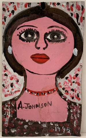 Tall Woman Anderson Johnson Painting