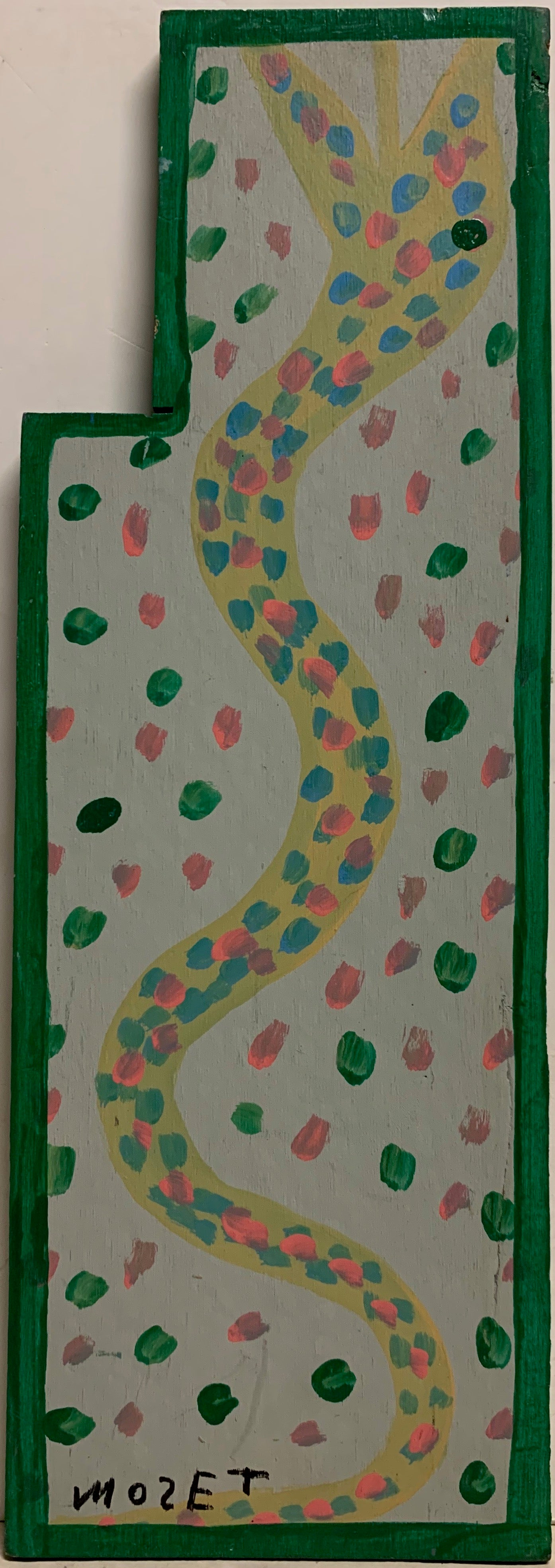 Polka Dotted Snake Mose Tolliver Painting