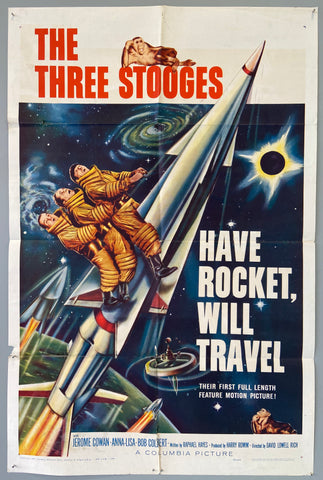 The Three Stooges ... Have Rocket, Will Travel
