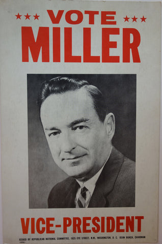 Vote Miller for Vice-President