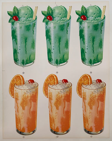 Fruity Float Print