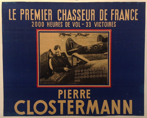 Le Premier Chasseur de France -- Pierre Clostermann