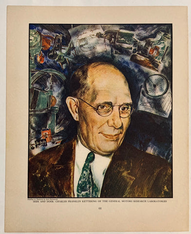 Seer and Doer: Charles Franklin Kettering of the General Motors Research Laboratories