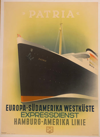 Patria Travel Poster