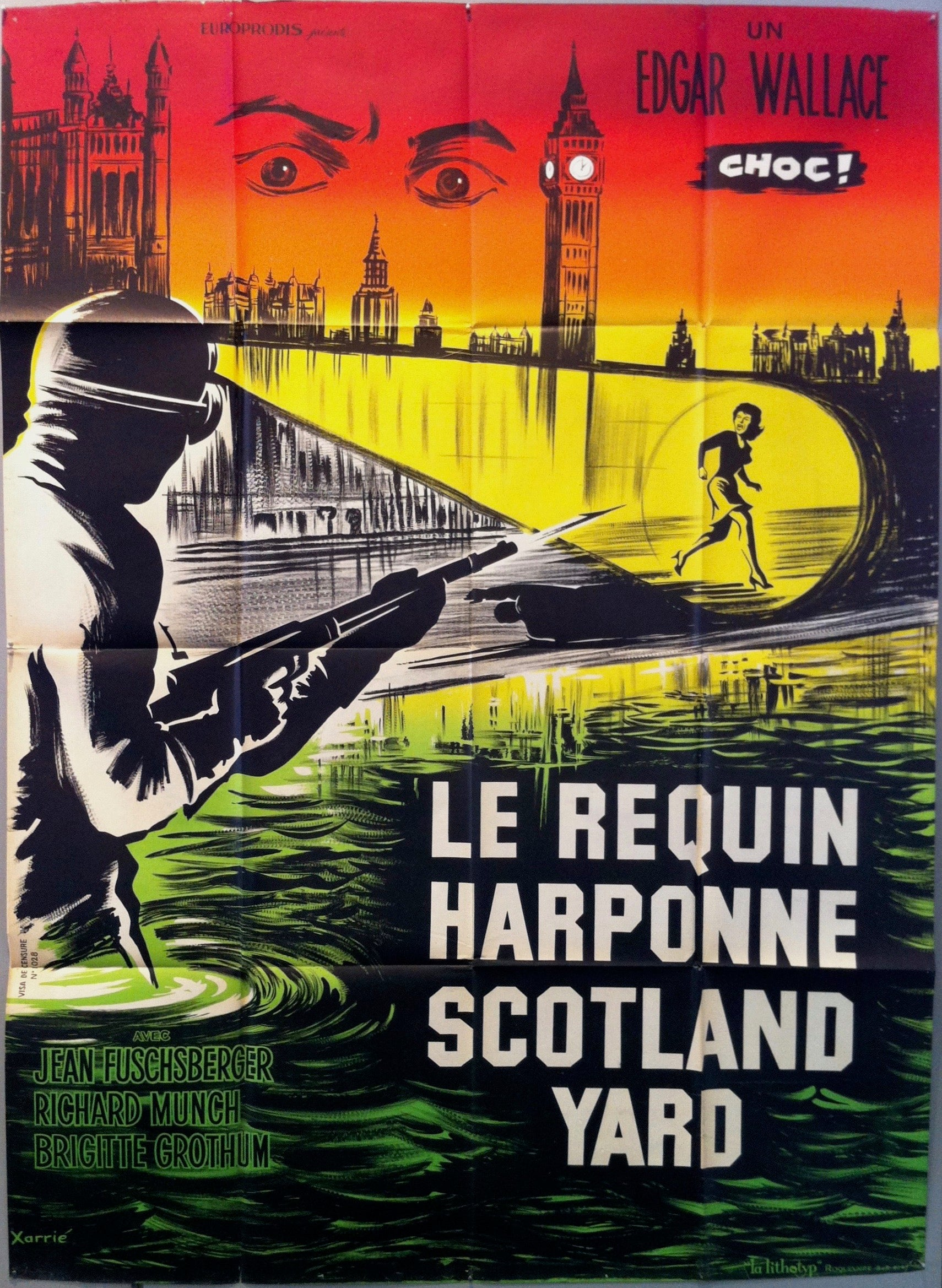 Le Requin Harponne Scotland Yard