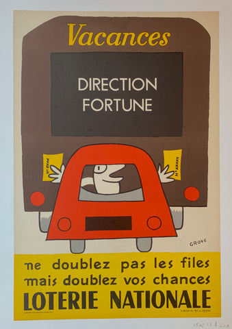 Loterie Nationale Vacances Poster