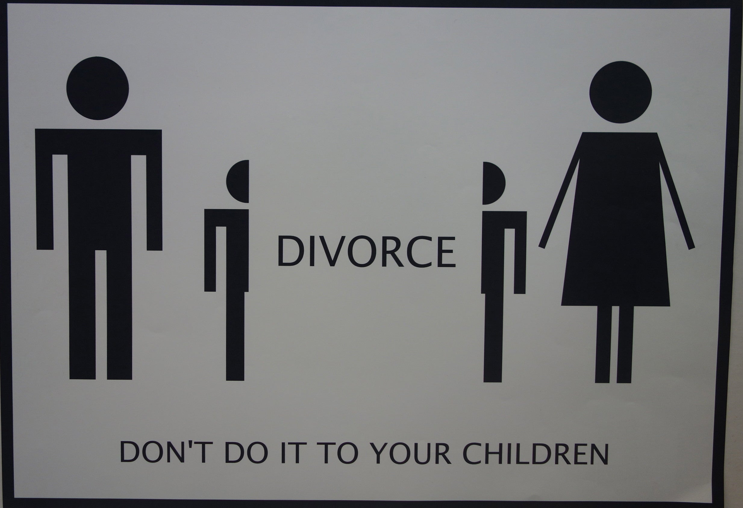 Divorce Don't do it to your children