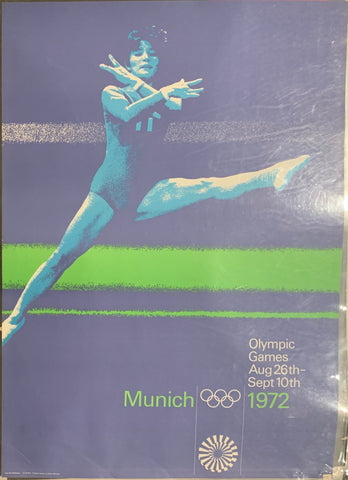 Munich Olympic Games Poster