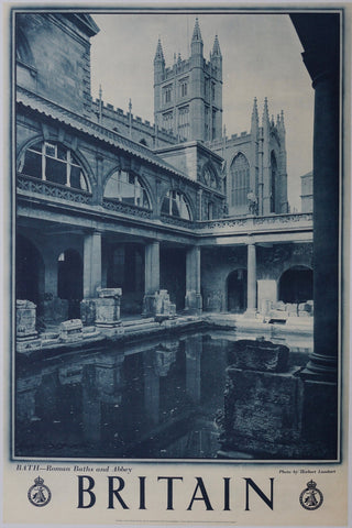 "Britain: ""Bath - Roman Baths and Abbey"""