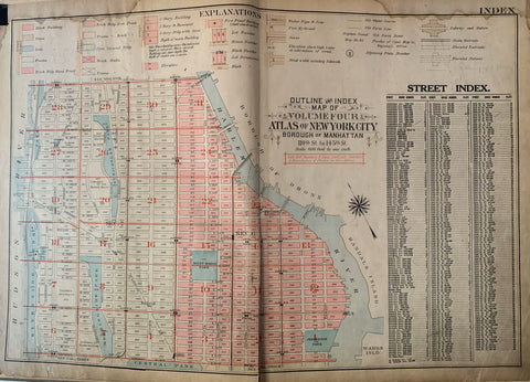 Atlas of the City of New York  Borough of the Bronx (Volume 4) 59