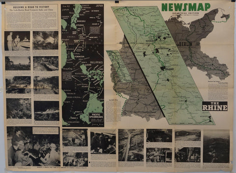 "Newsmap Industrial Edition ""The Rhine"" - Poster Museum"