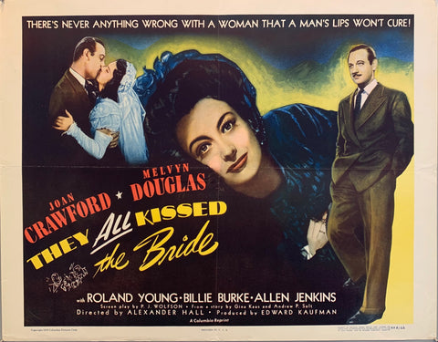 They All Kissed The Bride Film Poster