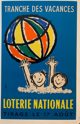 "Loterie Nationale ""Beach Ball Globe"""