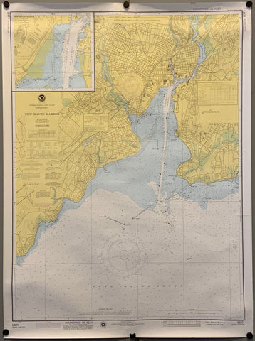 New Haven Harbor Map